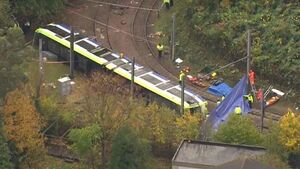 Update: Driver arrested after five killed in rush-hour tram derailment