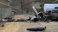 Four dead after air ambulance crashes and explodes in Nevada car park