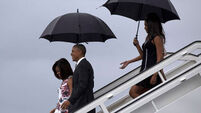 Barack Obama arrives in Cuba on first visit by US President in nearly 90 years