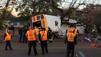 Driver charged after six children die in Chattanooga school bus crash