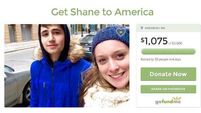 A Kerry teen has crowdfunded a trip to see his girlfriend in America
