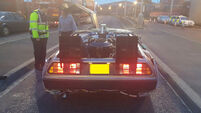 The Gardaí stopped a DeLorean and tweeted a great Back To The Future reference