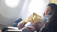 Woman gives birth on flight from Dubai to the Phillipines