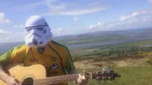 This guy's Star Wars version of the Hills of Donegal is out of this world