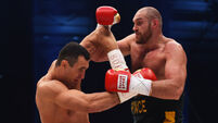 Rematch called off as Tyson Fury declared 'medically unfit to fight' Wladimir Klitschko