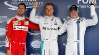 Nico Rosberg claims pole in Russia as things get worse for Lewis Hamilton