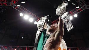 HISTORY MAKER! Conor McGregor becomes first dual weight UFC champion