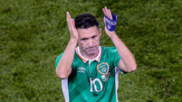 Robbie Keane reveals what he told teammates after his final Ireland game