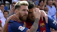 Lionel Messi steers Barca to rout as Atletico hit five