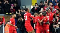 Liverpool v West Bromwich Albion - Premier League - Anfield