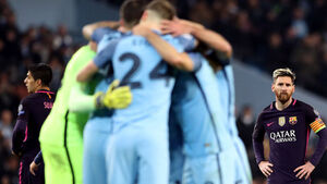 Manchester City players deny tunnel bust-up with Lionel Messi