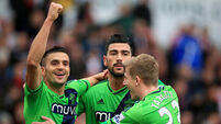 Pelle brace earns the points for Southampton at Stoke