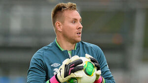 Republic of Ireland goalkeeper position 'completely up for grabs', says Rob Elliot