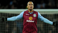 Gabriel Agbonlahor suspended by Villa as fans vow to continue protest against owner