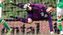 Rob Elliot's injury nightmare overshadows Ireland draw
