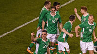 Clark's early goal makes it a great Friday for Ireland