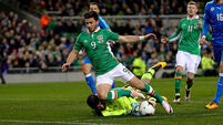 Martin O'Neill and Wes Hoolahan happy with 'attractive' football from Ireland