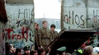Rise of nationalism after Berlin Wall fall