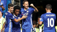 Wins for Chelsea, Arsenal, Leicester and Everton as Premier League takes shape
