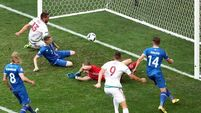 Own goal two minutes from time saves Hungary's blushes against Iceland