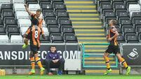Hull continue to defy expectations by sinking Swansea