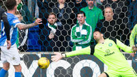 St Johnstone v Celtic - Ladbrokes Scottish Premiership - Ibrox Stadium
