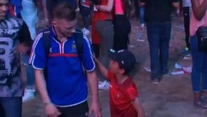 This little Portuguese boy comforting a France fan is the sweetest thing ever