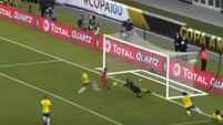 See the controversial goal that knocked Brazil out of the Copa America
