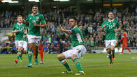 Robbie Keane scores in fitting Ireland send-off