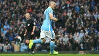 FA charges Sergio Aguero with violent conduct