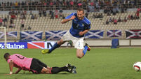 Scotland fail to hit the target during loss to Italy