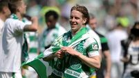 Celtic champions of Scottish league after victory against Aberdeen