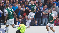 Brace from Anthony Stokes helps Hibs end their 114-year wait for Scottish Cup