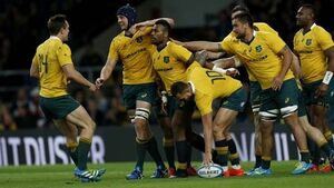 Australia's win over Pumas eases pressure on Cheika