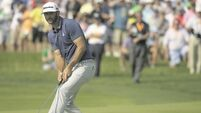 Dominant Dustin Johnson wins BMW Championship to move top of FedEx Cup standings