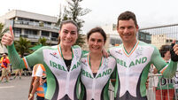 Team Ireland win two cycling GOLD medals in less than one hour