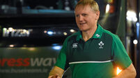 Joe Schmidt: I know that people question decisions I might make