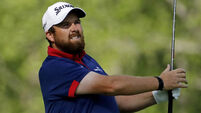 Shane Lowry shoots five birdies and eagle on back nine to share of clubhouse lead at Sawgrass