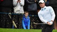 Rory McIlroy's game 'feeling good' as he leads by three after Irish Open suspended
