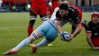 Northampton come close to upset but Saracens progress to European semis