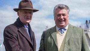 Paul Nicholls denies Willie Mullins to take trainers' championship