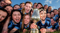 Here's how the All-Ireland post primary camogie finals ended
