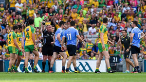 The Dubs had Diarmuid Connolly sent off in their win over Donegal