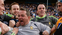 Davy Fitzgerald on Tony Kelly's free: 'I'd have been killed if he didn't score it'