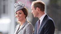 Kate Middleton and Prince William land in Down for garden party