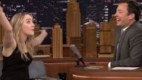 Saoirse Ronan explains to Jimmy Fallon what an Irish 'lock-in' is in the best way possible