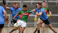 It took a point in the fifth minute of stoppage time to separate Dublin and Mayo's U21 footballers