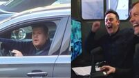 Ant and Dec prank James Corden and he's not happy
