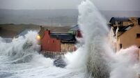 Climate change sees risk of extreme storms in west 'rise 25%'