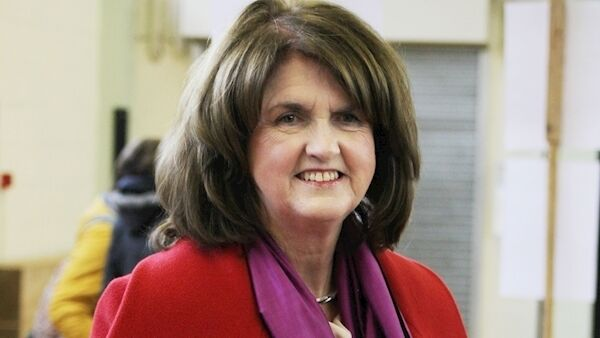 Joan Burton pictured in 2016